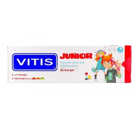 Vitis junior gel dentaire