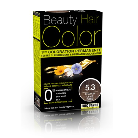 Beauty Hair Color 5.3 CHATIN CLAIR DORE