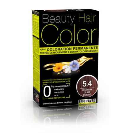 Beauty Hair Color 5.4 CHATIN CLAIR CUIVRE