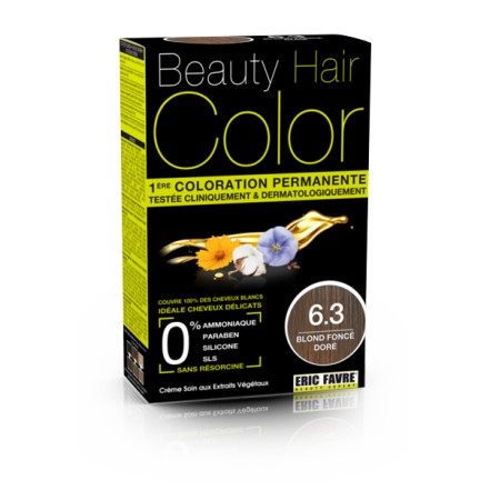 Beauty Hair Color 6.3 BLOND FONCE DORE