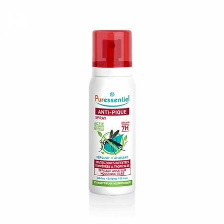 PURESSENTIEL ANTI-PIQUE SPRAY RÉPULSIF + APAISANT 75ML