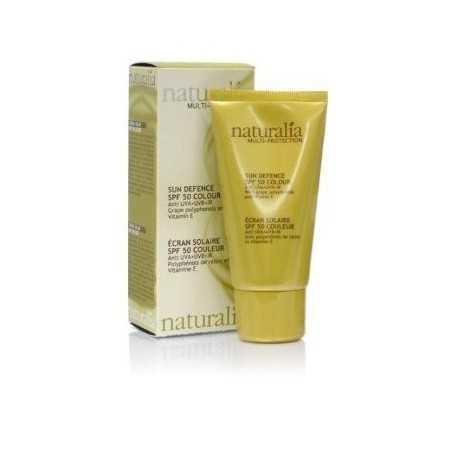 Naturalia: crème solaire teinté SPF 50+ 50 ml