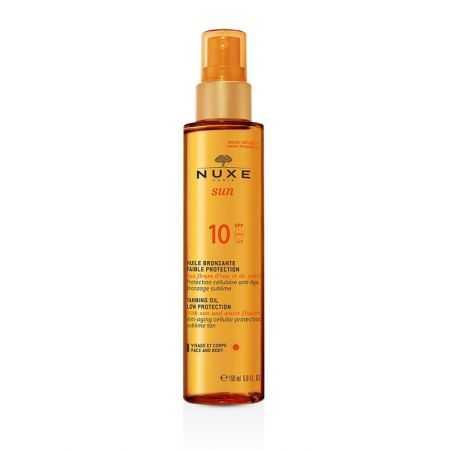 NUXE NUXE SUN, Huile Bronzante Faible Protection SPF10 - 150 ml