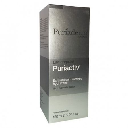 PURIADERM CANADA PURIACTIV LAIT CORPOREL ECLAIRCISSANT HYDRATANT 150 ML