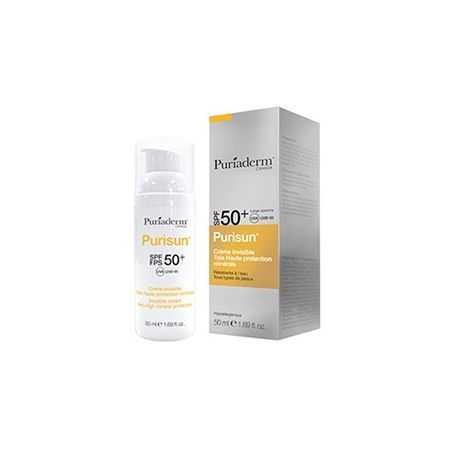 PURIADERM PURISUN CRÈME SOLAIRE INVISIBLE SPF50+ 50 ML