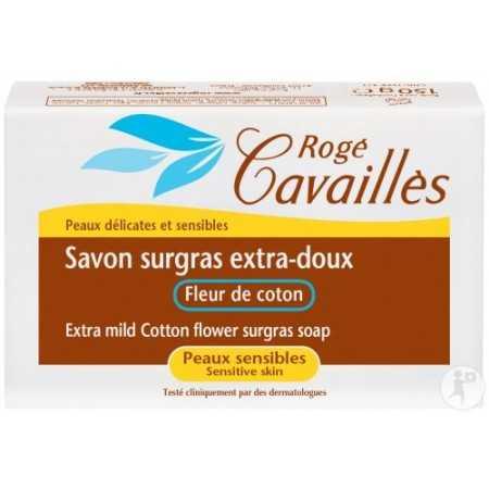 Rogé Cavaillès Savon parfumé fleur de coton 250g