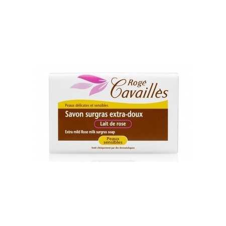 Rogé Cavaillès Savon parfumé lait de rose 250g