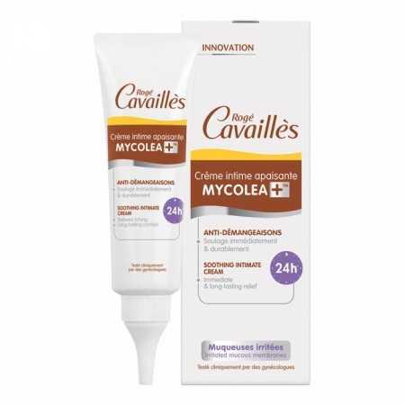 ROGE CAVAILLES CRÈME INTIME APAISANTE MYCOLEA+ 50ML