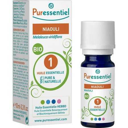 PURESSENTIEL Huile essentielle bio Niaouli - flacon de 10 ml
