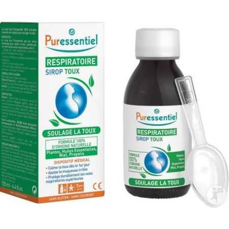Puressentiel Respiratoire sirop toux - flacon de 125 ml