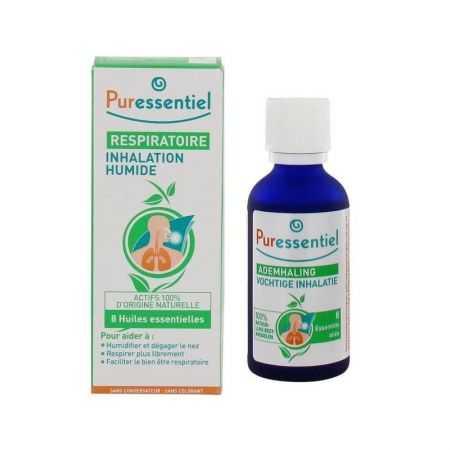 Puressentiel Inhalation humide  respiratoire - flacon de 50 ml