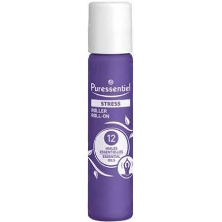 Puressentiel Stress Roller aux 12 Huiles Essentielles 5 ml