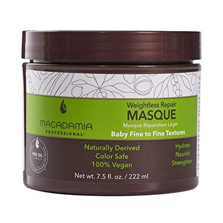 MACADAMIA Masque hydratant léger Weightless REPAIR