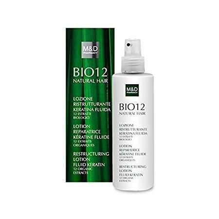 BIO12 NATURAL HAIR LOTION RéPARATRICE KéRATINE FLUIDE 200 ML