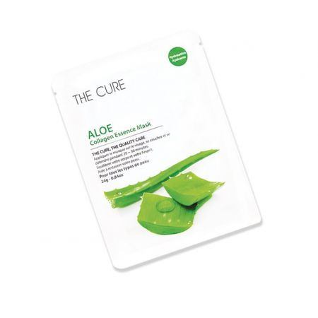 THE CURE : ALOE Collagen Essence Mask