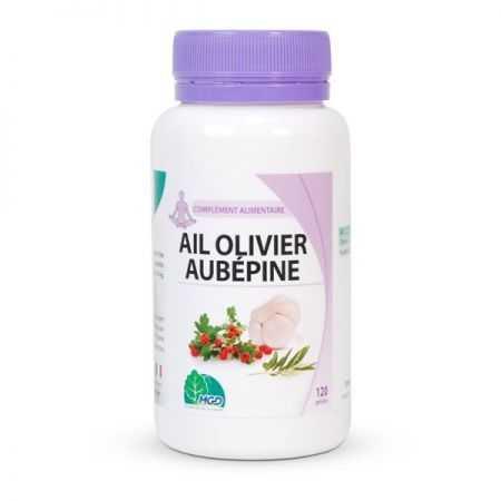 MGD Ail Olivier Aubépine 250 mg - 120 gélules