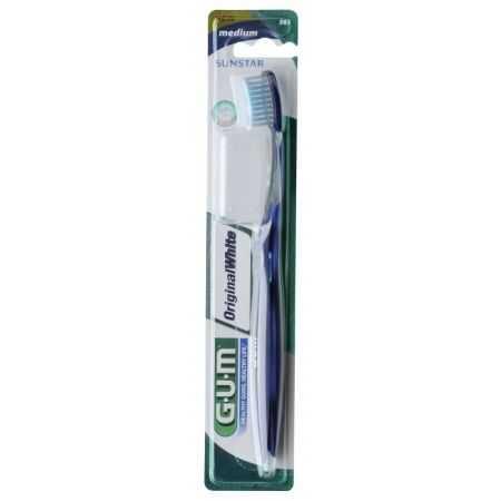 Gum Original White Brosse à Dents Medium 563
