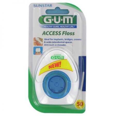 Gum Access Floss 3200 FIL DENTAIRE (implant,bridge et couronne)