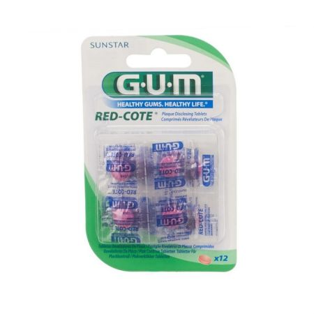 GUM red-cote révelateur de plaque - REF 824