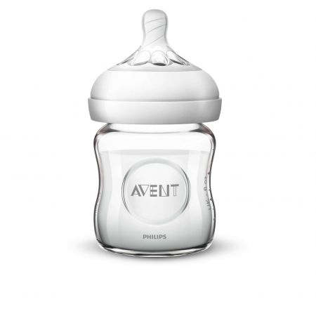 AVENT BIBERON NATURAL EN VERRE 120 ML