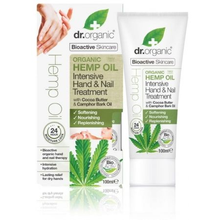 DR ORGANIC CHANVRE TRAITEMENT INTENSIF MAIN ET ONGLES 100ML