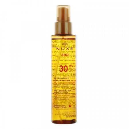Nuxe Sun huile bronzante SPF 30 150 ml