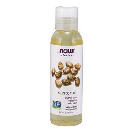 NOW-CASTOR OIL 4 OZ