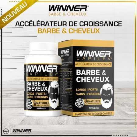 Winner ACCÉLÉRATEUR DE CROISSANCE CHEVEUX ET BARBE