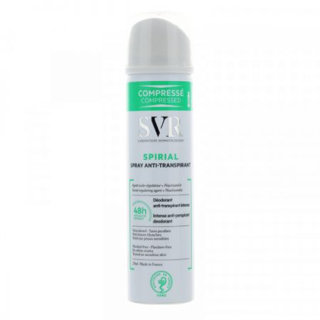 SVR SPIRIAL SPRAY Déodorant anti-transpirant - 75 ML