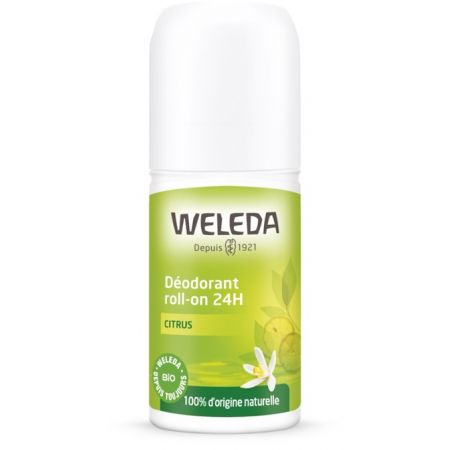 WELEDA Déodorant roll-on 24h Citrus