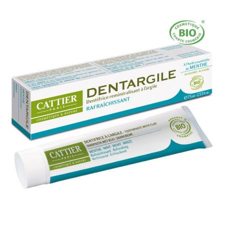 Cattier Dentargile Dentifrice Menthe 75 ml