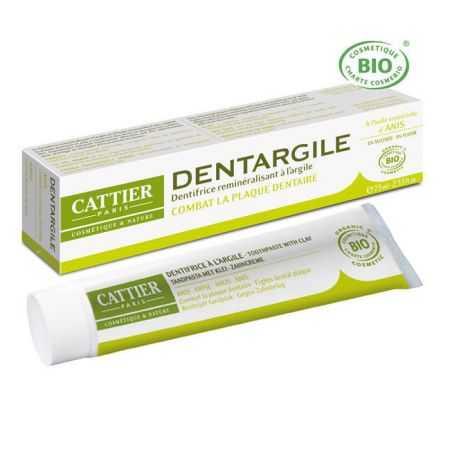 Dentargile Anis - Dentifrice bio  75ml