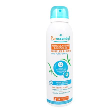 Puressentiel Articulations & Muscles Cryo Pure Spray Froid Intense. 150ml