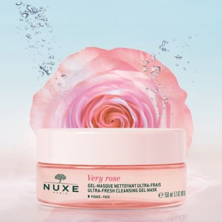 NUXE VERY ROSE Gel-Masque Nettoyant Ultra-frais