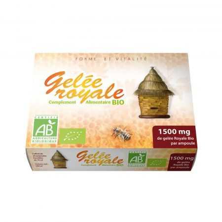 GPH gelée royale BIO 1500 mg 20 AMPOULES