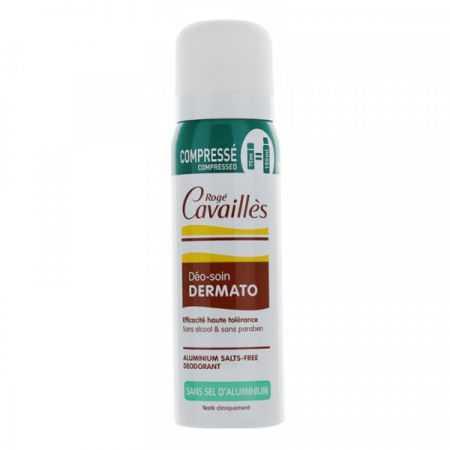 Rogé Cavaillès déo-soin Dermato spray compressé 75ml SANS SELS D'ALUMINIUM