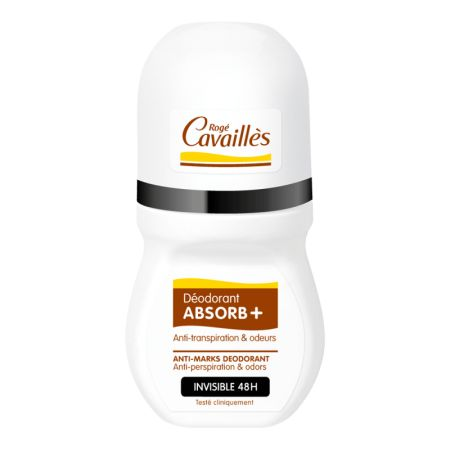 ROGE CAVAILLES Absorb+ Deo Invisible Roll On 50ml