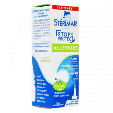Sterimar Stop & Protect nez spray nasal allergies 20ml