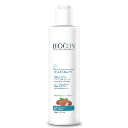 BIOCLIN SQUAM  Shampoing pellicules sèches 200ml