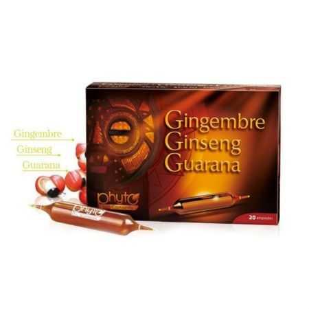 Gingembre - Ginseng - Guarana - Yves Ponroy - 20 ampoules