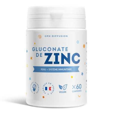 GPH Gluconate de zinc - 15 mg - 60 comprimés