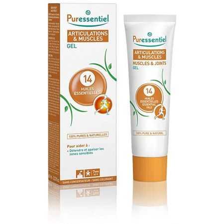 Puressentiel - Articulations & Muscles - Gel aux 14 Huiles Essentielles, 60ml