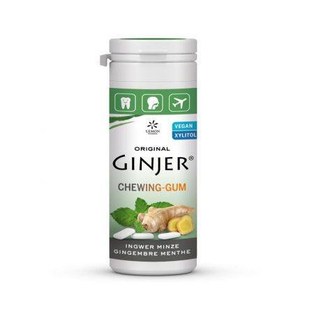 Chewing gum Ginger– Mint 30g