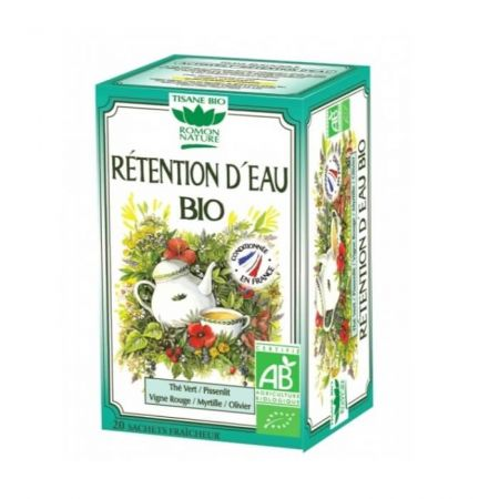 ROMON NATURE Tisane Rétention d'eau Bio - 20 sachets
