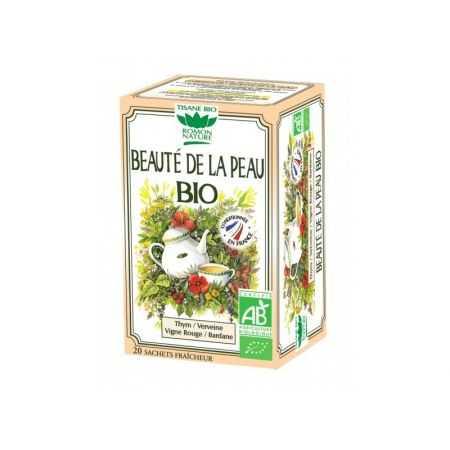 Tisane Beauté Peau Bio - 20 sachets