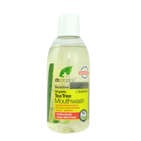 Dr. Organic Bain de Bouche au Tea Tree