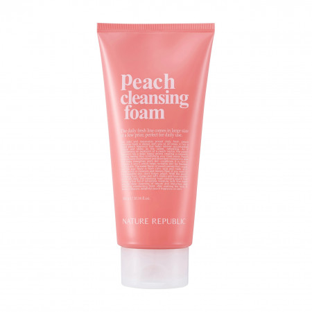 NATURE REPUBLIC Daily Fresh Peach Cleansing Foam