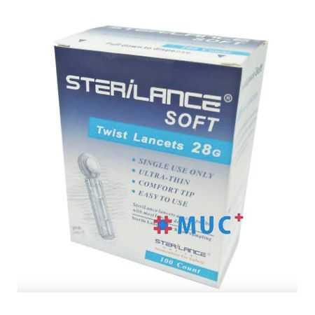 STERILANCE LANCETS 28G / 100ct