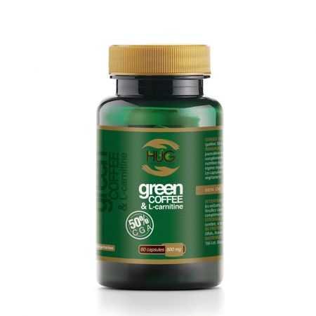 HUG  Green Coffee & L-Carnitine 60 Capsules à 500mg