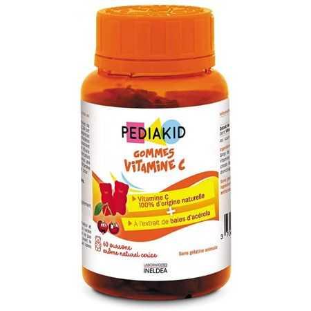 PEDIAKID Gommes Vitamine C /60 GOMMES